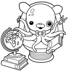 octonauts coloring pages disney coloring pages coloring pages to print coloring book pages