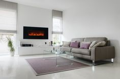 """Modern Flames 60"""" Built in / Wall Mounted Electric Fireplace (AL60CLX2 )"""