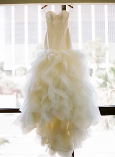 Wow - wow- and more Wow! Custom designed gown by Atelier By Dawn | See the lucky girl who wore this wedding dress on SMP: http://www.StyleMePretty.com/2014/01/13/los-angeles-wedding-at-the-park-plaza/ Esther Sun Photography
