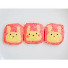 risa's dish photo うさぎのアイスボックスクッキー | http://snapdish.co #SnapDish #レシピ #クッキー #簡単料理 #お誕生日 #おやつ #キャラクター