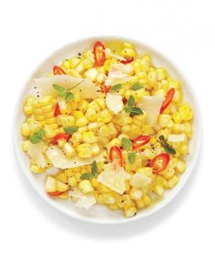 The only thing better than corn on the cob? This fresh corn salad that's much easier to eat. Allow the mixture to sit before serving to give the flavors time to meld and develop.