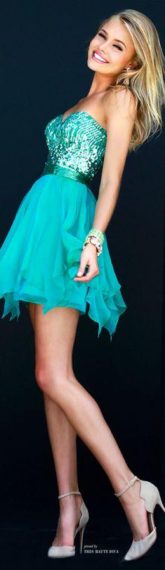 Farb-und Stilberatung mit www.farben-reich.com - Sherri Hill Fall 2014 ♔ Tres Haute Diva prom dress #promdress .http://www.newdress2015.com/prom-dresses-us63_1/p2