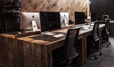 Ubiquitous' Wooden  Luxurious Manchester Office