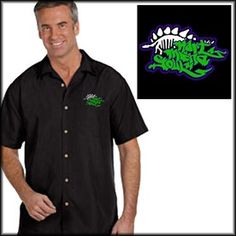 High quality, full button down, embroidery camp shirts from Hart Mind Soul - Portland, OR