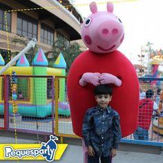 Peppa sabe todo lo que le gusta a tu peque llevala a tu próxima fiesta . . . #pequesparty #fiestainfantil #PeppaPig #peppapig #lagomall #divertido #niños #maracaibo