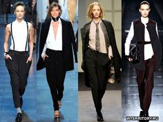 мужской стиль в женский одежде лето 2014 - Поиск в Google