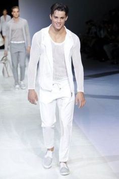 All white mens outfits white suits for kate casual wedding outfit for men men's casual summer Older Mens Fashion, Men Fashion Show, Mens Fashion Suits, Fashion Pants, Men's Fashion, Live Fashion, Latest Fashion, Casual Wedding Outfit Mens, All White Mens Outfit