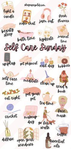 Stress Meditation, Vie Motivation, Sunday Motivation, Self Care Bullet Journal, Happiness Challenge, Positive Self Affirmations, Self Care Activities, Good Habits, Self Improvement Tips