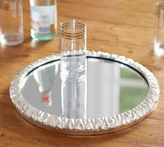 Ice Rink Mirrored Tray   Pottery Barn