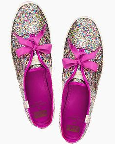These shoes are Perfect. Kate Spade does it again.