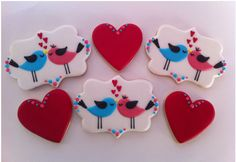 Personalized Valentine Cookies