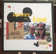 Disney with my Love - Scrapbook.com