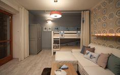 Výsledek obrázku pro obývák a ložnice v jednom Loft, Bed, Furniture, Home Decor, Decoration Home, Stream Bed, Room Decor, Lofts, Home Furnishings