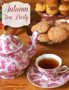 Afternoon tea is no longer just for little girls and their dolls. Adults can enjoy a tea party if it…