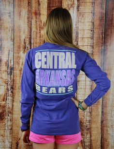 You know you love standing out! Well with this awesome University of Central Arkansas t-shirt, you will!