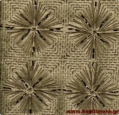 Kendimata.gr - Κεντήματα με Χάντρες Beaded Embroidery, Embroidery Designs, Filet Crochet, Handicraft, Needlepoint, Cross Stitch, Beads, Rugs, Greece