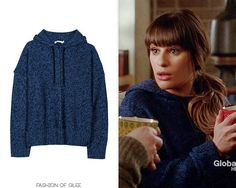 T by Alexander Wang Boxy Knit Hoodie - $285.00 Worn with: UGG boots