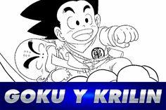 Cómo dibujar a GOKU y KRILIN Dragon Ball - How to draw Goku and Krilin #anime #manga #goku #dragonball #dbz #dragonballz #draw #drawing #dibujo #dibujar #dragonballz