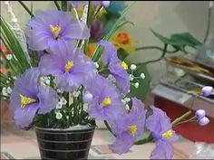 sieudiadiem uploaded this image to 'Handmade'. See the album on Photobucket. Nylon Flowers, Diy Flowers, Special Flowers, Climbing Roses, Nylon Stockings, Flower Crafts, Handmade, Creative Ideas, Album