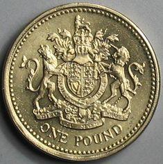 Pound coin.
