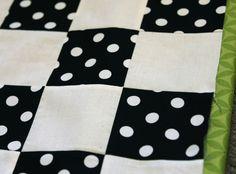 Simple checkerboard block technique