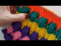 Şişle Baloncuk Modeli /Bubble Knitting - YouTube