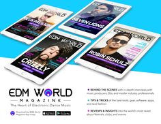 Digital Electronic Dance Music Magazine for the EDM community with music producers, DJs, industry leaders, gear, apps, rave fashion and music festivals.