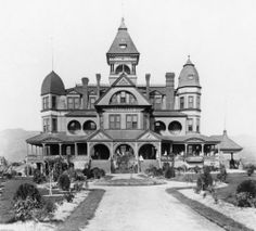 The Hotel Glendale in the 1880's, Glendale, Los Angeles