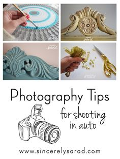 Photography Tips for shooting in auto
