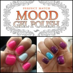 Lechat Mood Changing Gel Polish Angelic Dreams Twilight Skies Valley Nails
