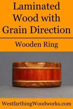 Making wooden rings is about designing something beautiful, and paying attention to the grain direction can help you add an interesting twist to your wooden rings. Small Woodworking Projects, Woodworking Tips, Rings N Things, How To Make Rings, Beautiful Wedding Rings, Ring Stand, Wood Laminate, Wood Rings, New Hobbies