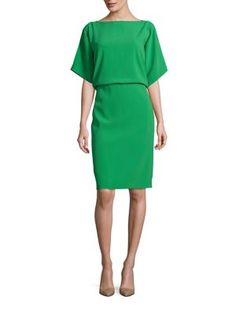 ESCADA Draped Open Back Dress. #escada #cloth #dress
