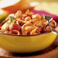 Italian Chicken with Chickpeas | MyRecipes.com