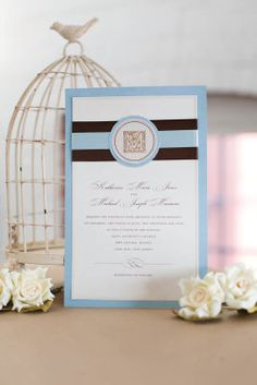 michaelscom wedding department classic blue invite create depth with the classic gartner studios - Michaels Wedding Invites