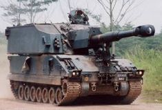variants - 155mm self propelled Howitzer