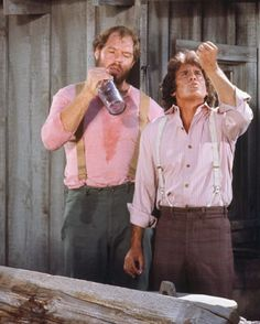 Lhotp behind the scenes... Michael showing how to drink booze properly!