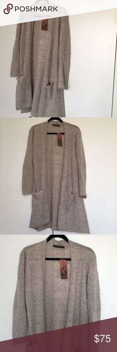 NWT Peruvian connection pebble balmoral cardigan Size small Nwt Wool/alpaca/viscose Peruvian Connection Sweaters Cardigans