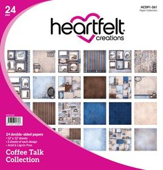 Hearfelt Creations Coffee Talk Collection