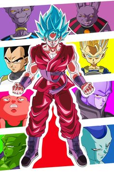 Visuel for Fancards dragon ball z my official website : chibidamz.wordpress.com/ DRAGON BALL Super Toei Animation Co., Ltd. © Bird Studio/Shueisha, Toei Animation/Akira ...