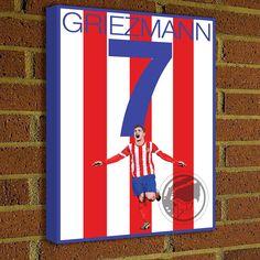 17 Atletico Madrid Ideas In 2021 Soccer Art Atlético Madrid Soccer Poster