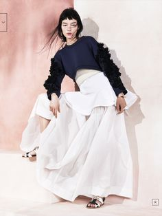 IMG 4155 1 Vogue China Maio 2014 | Fei Fei Sun por Sharif Hamza [Editorial]