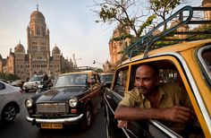 The Padmini taxi was once ubiquitous in Mumbai. But under a 2008 government decree requiring cabs older than 25 years to be retired, the old car is slowly disappearing. Mumbai City, Can Run, City That Never Sleeps, Door Pulls, State Government, Taxi, Travel Around The World, Ny Times