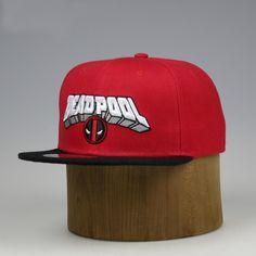 Deadpool Snapback Cap 2016 New Design Anime Comic Marvel Hip Hop Hat Casual  Baseball Caps For abb888f5a81c