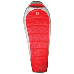 Special Offers - Coleman Womens Mummy Sliverton Sleeping Bag - In stock & Free Shipping. You can save more money! Check It (June 16 2016 at 04:10PM) >> http://campingtentsusa.net/coleman-womens-mummy-sliverton-sleeping-bag/