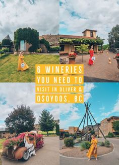 6 Wineries You Need to Visit in Oliver & Osoyoos, BC, Canada. These are some of the most stunning wineries in the Okanagan Valley! Things To Do In Kelowna, Osoyoos Bc, Boat Rental, Canada Travel, Canada Trip, British Columbia, Travel Guides, Travel Tips, Travel Inspiration