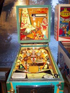 """1970 King Rex """"Bally"""" Pinball"""