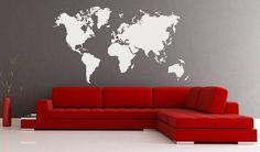 Sticker Carte du monde 119n