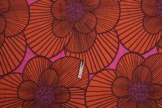 cool retro fabric scandinavian design by lillamormor on Etsy, $12.00