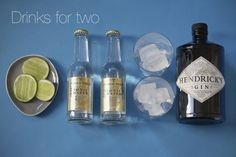 gin & tonic love.