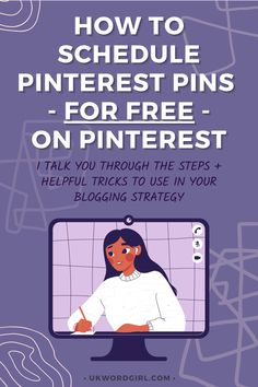 How to Schedule Pinterest Pins For Free on Pinterest ~ a step-by-step guide + handy tips n' tricks | UKWordGirl | #PinterestMarketingTips | Pinterest For Bloggers | Use Pinterest to Grow Your Blog | Blogging Growth | Pinterest Tips | Pinterest Pins | How to Schedule Pinterest Pins | Social Media Marketing Handy Tips, Helpful Hints, Pinterest Pin, Pinterest Marketing, Step Guide, Social Media Marketing, Schedule, Blogging, Memes